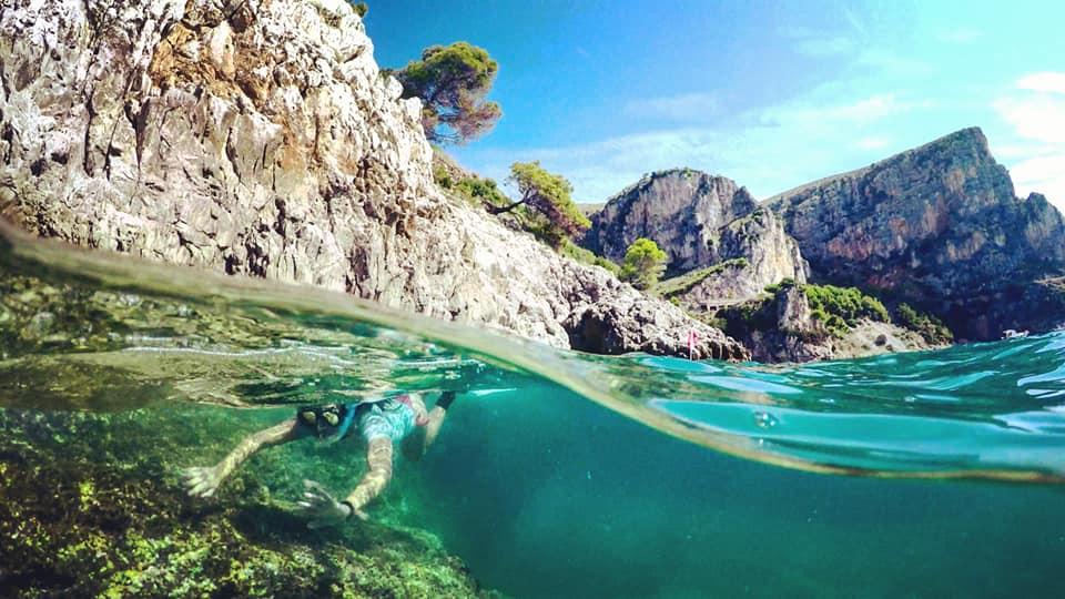 Snorkelin in Formia, Gaeta and Sperlonga