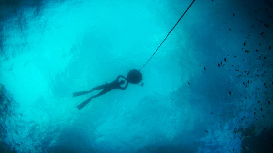 Freediving in Formia, Gaeta and Sperlonga
